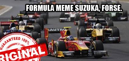 Formula Meme Suzuka