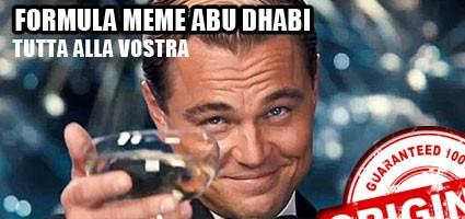Formula Meme Abu Dhabi