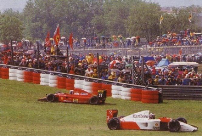 Prost-Berger-uscita-di-pista-GP-San-Marino-1991
