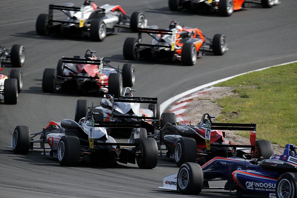 FIA Formula 3 European Championship 2017, round 7, race 3, Zandvoort (NED)