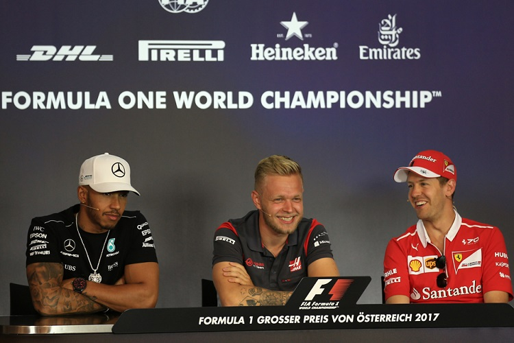 magnussen press conference