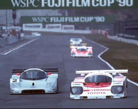 Roland Ratzenberger su Sard Toyota
