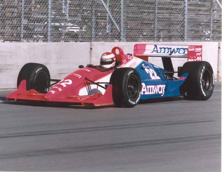 Roland Ratzenberger con Dick Simon Racing in CART