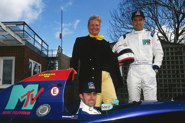 Barbara Behlau, Roland Ratzenberger, David Brabham