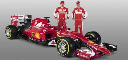 Formula 1 2015 Ferrari Vettel Raikkonen